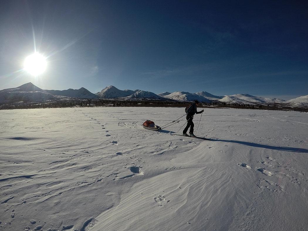 Raids Nordiques à Ski Pulka